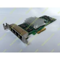 HP NC364T PCI Express x4 Quad Port Gigabit Server Adapter Low Profile