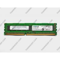 RAM Crucial 8GB DDR3 1600 ECC Unbuffered UDIMM CT102472BA160B