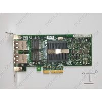 HP NC360T PCI-e Dual port Gigabit Server Adapter Low Profile 412651-001 412646-001 412648-B21
