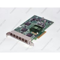Dell Intel Hotlava Vesuvius 6 Six Port Gigabit Adapter PCI Express x8 - Made In USA - 0D206J 6C11810A3