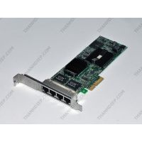 INTEL PRO/1000 VT Quad Port Server Adapter LP PCI-e PCI-Express x4 - OEM DELL K828C YT674