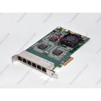 Silicom PEXG6I-ROHS Six Port Gigabit Adapter PCI Express x4 - Made In Israel