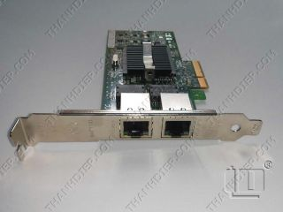Intel PRO/1000PT EXPI9402PTBLK Dual Port PCI-Express PCI-e x4 Server Adapter