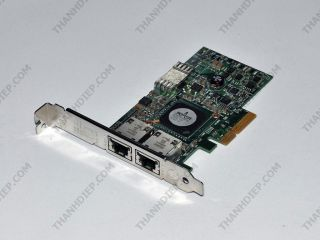 Broadcom NetXtreme II 5709C Dual Port Network Interface Card with TOE and iSCSI Offload -  G218C F169G