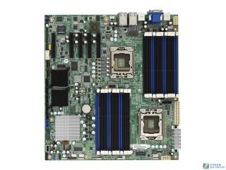 Tyan S7012 (S7012GM4NR) Dual LGA 1366 Intel 5520 Extended ATX Dual Intel Xeon 5500 and 5600 Series Server Motherboard