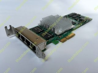 Intel® PRO/1000 PT Quad Port Low Profile Server Adapter PCIe x4 EXPl9404PTLBLK EXPI9404PTL